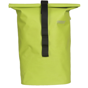 Welded Seamless Bicycle Pannier Bag Deep Green