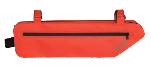 无缝自行车架包,红色-
