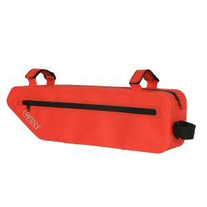 Bicycle Under Tube Bag for Large Size Road Bike - Red