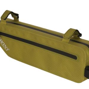 轻便的防水自行车包-浅绿色