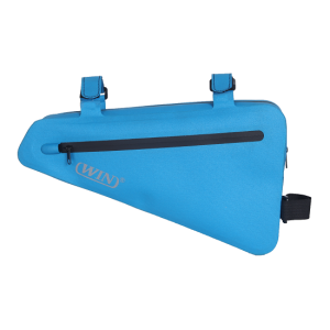 Bicycle Top Tube Triangle Bag Frame Bag - Blue