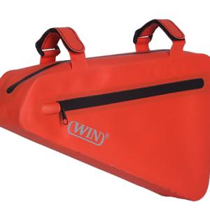 Custom Reflective Logo Waterproof Bike Storage Cycling Frame Bag