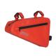 Waterproof Bike Storage Frame Bag- Red