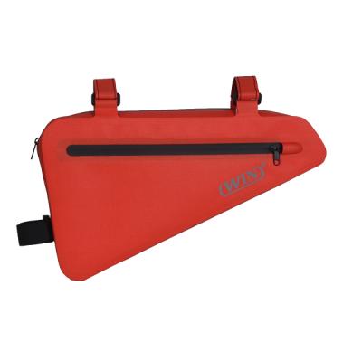 防水自行车架袋收纳袋-红色
