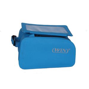 Waterproof Bicycle Top Tube Cycling Phone Mount Pack - Blue