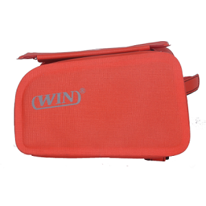 Bike Phone Front Frame Bag - Red