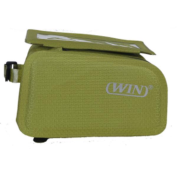 防水自行车框架包-浅绿色