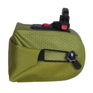 Welded Seamless Saddle Bag-S - Light Green