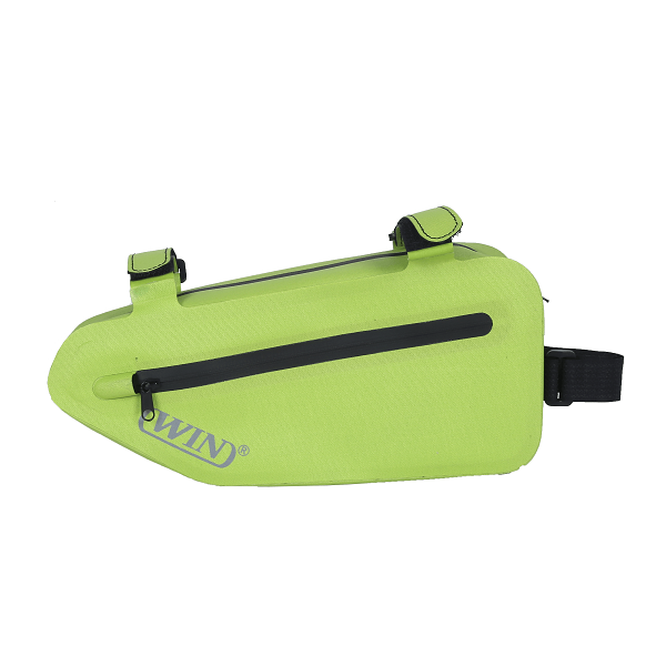 Bike Bicycle Triangle Bag for Mountain Road Commute - Deep Green