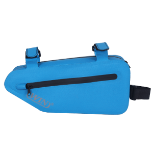 Waterproof Bicycle Frame Bag - Blue