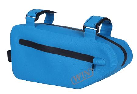 防水自行车车架包-蓝色