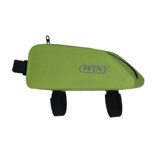 Bicycle Front Frame Bag Waterproof Bike Pouch- Deep Green