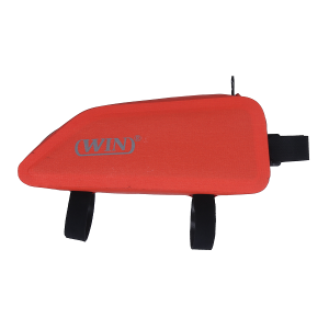 Bike Bag Waterproof Under Tube Bicycle Frame Bag - Red