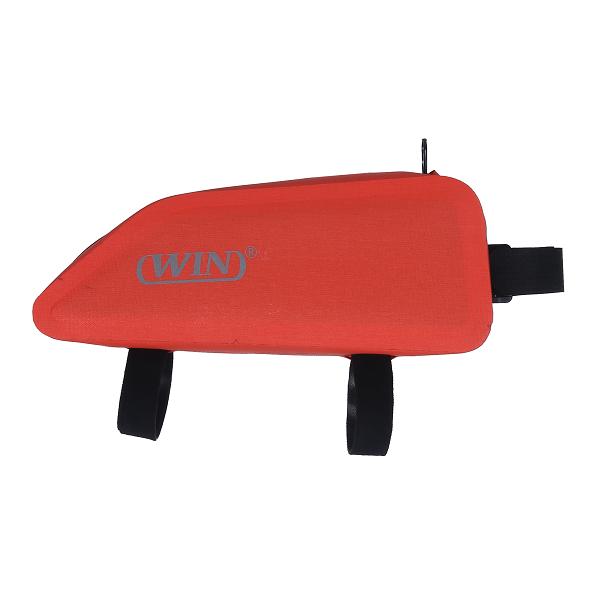 Bike Bag Waterproof Under Tube Bicycle Frame Bag - Red