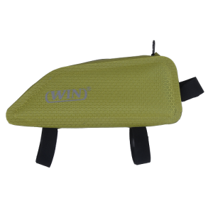 Welded Seamless Bicycle Frame Bag - Light Green