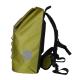 Backpacks with Exterior Airtight Zippered Pocket - Light Green