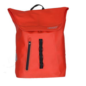 Durable Laptop Backpack Waterproof Outdoor Bag - Red