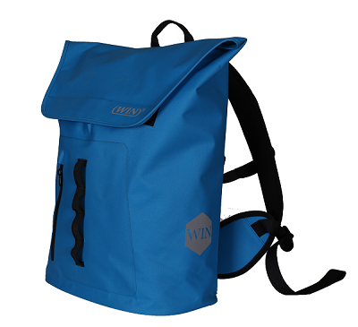 Waterproof Large Capacity Backpack Easy Access Front Zippered Pocket Bag