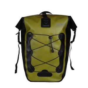 Durable Cycling Pannier Bag Light Green