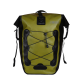 Bike Pannier Bags Daypack for Outdoor Cycling Hiking Light Green