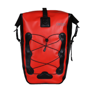 Lightweight Bicycle Pannier Bag - Red