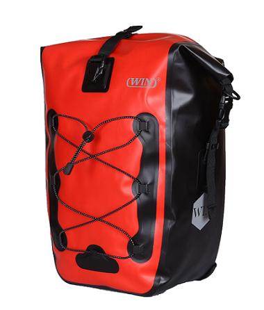 Bike Side Storage Bag with Adjustable Hooks for Bike Cycling Touring Bag