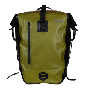Large Capacity Waterproof Rear Pannier Bag - Light Green