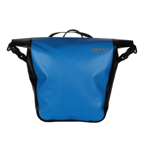 Waterproof Pannier for Cycling-Blue