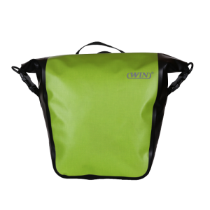 Convenient Install Bike Pannier Bag - Deep Green