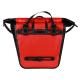 Waterproof Bike Bag Pannier Rear Rack - Red