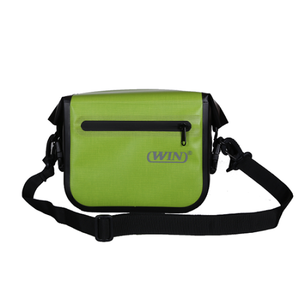 Bike Bag Commuter Shoulder Sling Messenger Bag Deep Green