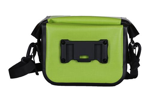 Bike Bag Waterproof Commuter Shoulder Sling Messenger Bag Deep Green