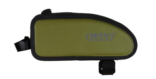 易于安装的防水自行车包-浅绿色