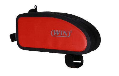 防水自行车前袋-红色