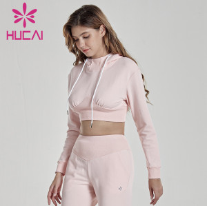 customizable tracksuit hooded fitness suit quick dry running casual sports top