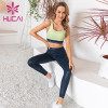 Gym clothing wholesale tight wear hip gym sports running color matching training clothes