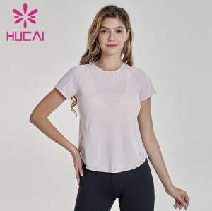 Sportswear wholesale professional yoga clothes women's slim fitness top plain tracksuit wholesale