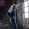 mens athletic wear wholesale hooded sports long sleeve coat