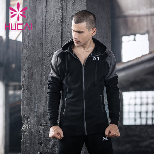 mens tracksuits wholesale autumn fitness plus thick fit Hoodie long sleeve sanitary men's Hoodie
