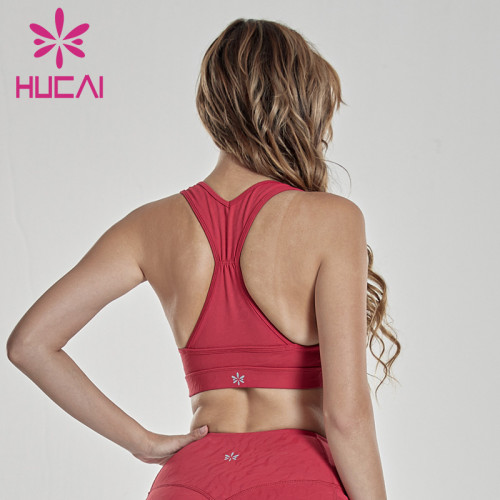 Integrated large sports bra shockproof high strength support large bra fixed pad underwear wholesale womens jogging suits