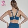 Back Yoga vest women's wear double shoulder sports underwear gym apparel wholesale