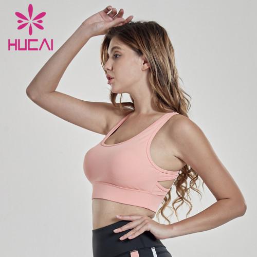 Asymmetrical fold underwear sports shockproof fitness vest unbranded gym clothing wholesale australia