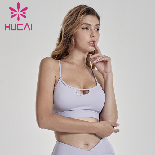 Back sports bra women's comfortable and breathable fitness underwear women's Yoga outer wear daily inner strap summer