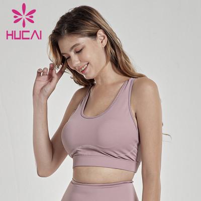 Beautiful back breathable sports underwear Yoga tight women's Bra