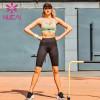 Quick drying belt Yoga running sling bra shorts suit fitness suit women's net red