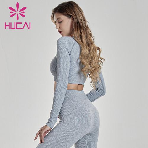 Pit texture nylon thread high strength shockproof sports bra running Yoga Fitness suit wholesale sportswear canada