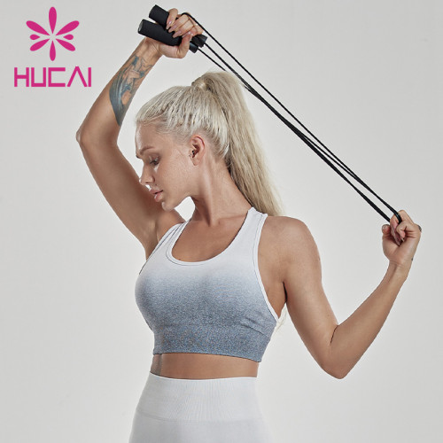 Seamless sports bra medium binding adjustable tank tops underwear for women gym wear manufacturer