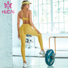 Yellow sports underwear women's  Fitness sling beautiful vest style yoga clothing wholesale canada