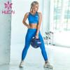 I-back pleated underwear fitness suit women's two piece Yoga suit running breech pants
