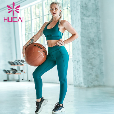 wholesale custom clothing manufacturers Sexy back Yoga suit fashion temperament Xianqi sports suit